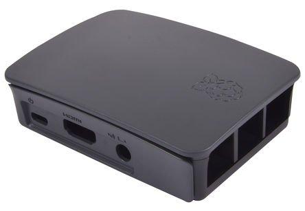 31xpySxXGYL - Melopero Raspberry Pi 3 Official Starter Kit Black, con Cargador Oficial, Caja Oficial, microSD Oficial de 16GB con Noobs, Cable HDMI y disipadores