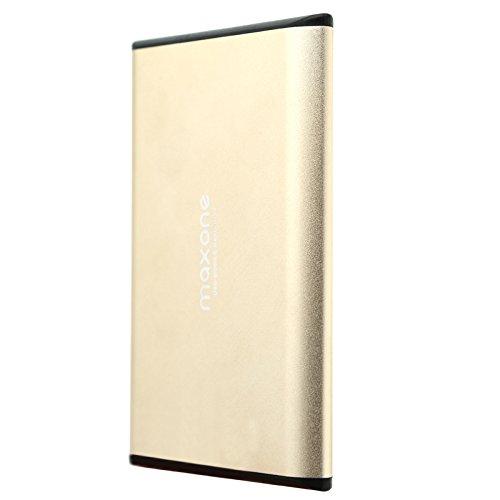 Hard disk esterno portatile da 2,5 'USB 3.0 / 2.0 per laptop / PC / Xbox one / PS4 (250GB, Gold)