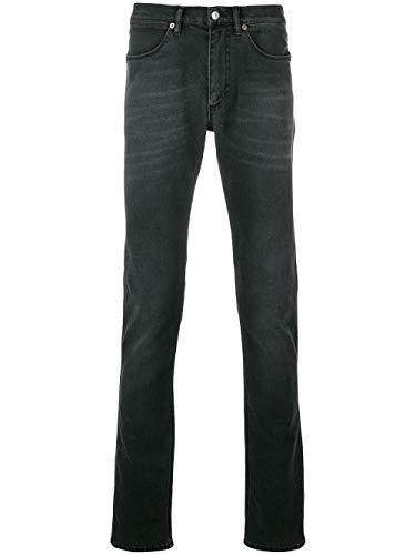 ACNE STUDIOS Herren 30O176177 Schwarz Baumwolle Jeans