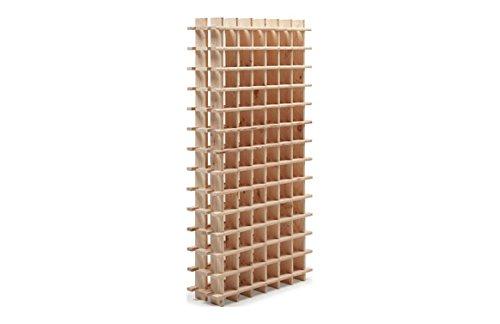 Cantinetta/scaffale per vino/sistema PRIMAVINO modulo per 84 bottiglie, legno di pino - a 150 x l 75...