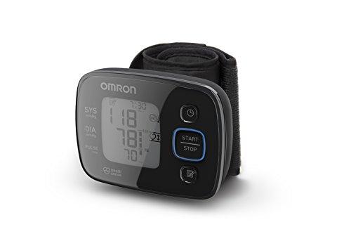 OMRON MIT Precision 5 Misuratore di Pressione da Polso, Design Compatto, Sensore di Corretto...