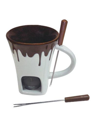 Swissmar F12064 4-Piece Nostalgia Chocolate Fondue Mug Set