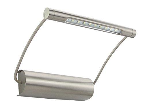 LED Design Bilderleuchte Bildbeleuchtung Wandlampe Edelstahl (253)