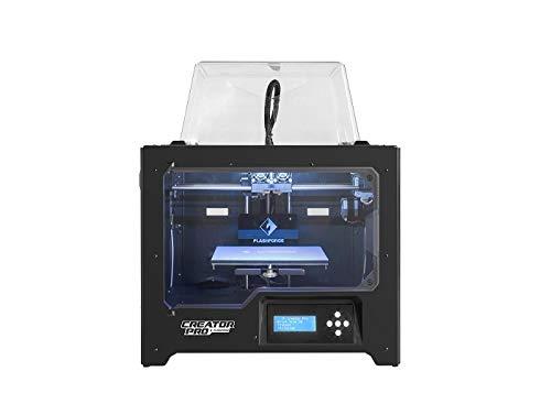 Flashforge Stampante 3D Creator Pro Stampante doppio estrusore a Ottimizzato Piastra Costruire e aggiornata Holder Spool