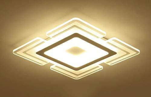 GWFVA Luci di soffitto a LED Luci di Soggiorno Luci di Camera da Letto quadrate Luci del Ristorante...