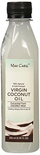 Max Care Cold Pressed Virgin Coconut Oil, 250ml