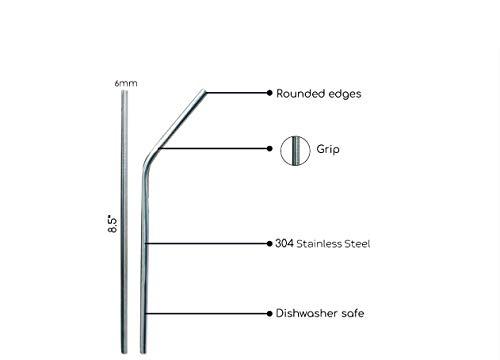 Minimo Reusable SS Straws 2