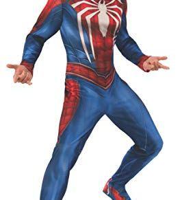 Marvel Spider-Man Gamer Verse Adult Fancy Dress Costume X-Large