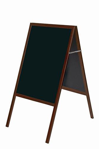 Bi-Office DKT30404052 Lavagna per Gessetti con Cornice, Ciliegio, 600x1200 mm