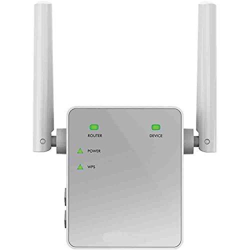 Netgear Ripetitore WiFi Wireless, WiFi Extender e Access Point Basic, Potenzia la copertura WiFi,...