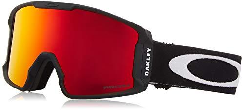 Oakley Maschera da Sci LINE MINER XM OO 7093 MATTE BLACK/PRIZM SNOW TORCH IRIDIUM unisex