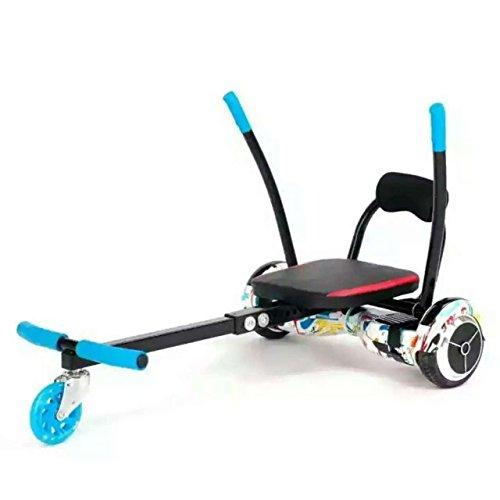 Kit hoverkart regolabile per monociclo elettrico autobilanciante hoverboard con ruote da 6.5'