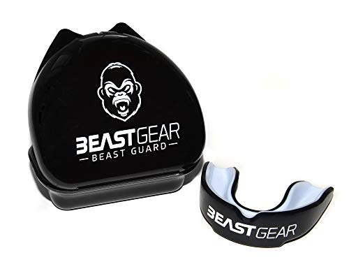 Paradenti Beast Gear / Paragengive / Scudo in gomma Unisex - per boxe, MMA, rugby, muay thai,...