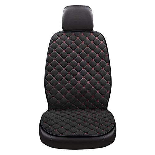 Sitzheizung, Beheizbare Sitzauflage, Autositzauflage mit intelligente Temperaturregelung, Heizbare Sitzauflage Verschleißfestigkeit, Kältebeständigkeit, Reißfestigkeit, Heizkissen für Pkw, LKW, Kfz,