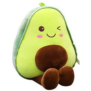 GIRISR Muñeca De Peluche De Felpa Juguete De Felpa Creativa Aguacate con Relleno De Algodón Fruta Muñeca Throw Pillow Sofá Decoración Diferentes Tamaños