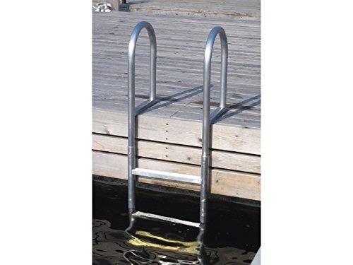 Dock Edge Badeleiter Aluminium 5 Stufen