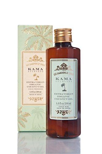 Kama Ayurveda Extra Virgin Organic Coconut Oil, 200ml 9