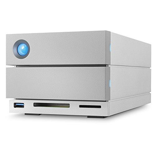 LaCie STGB8000400 2big Dock Thunderbolt 3 8 TB Externe Performance Festplatte (8,89 cm (3,5 Zoll) im...