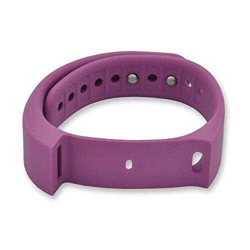 endubro braccialetto ricambio per tutti fitness tracker i5 Plus colore VIOLA