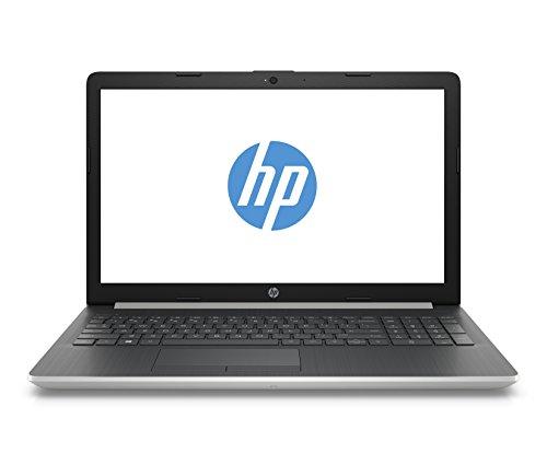 """HP Notebook 15-da0039ns - Ordenador Portátil 15.6"""" HD (Intel Core i5-8250U, 4 GB RAM, 1 TB HDD, Intel Graphics, Windows 10), Color Plata - Teclado QWERTY Español"""
