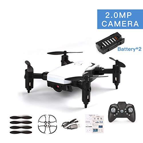 LF606 Mini Drone con 2 batteria 720 P HD fotocamera FPV RC Quadcopter pieghevole Altitudine Hold...