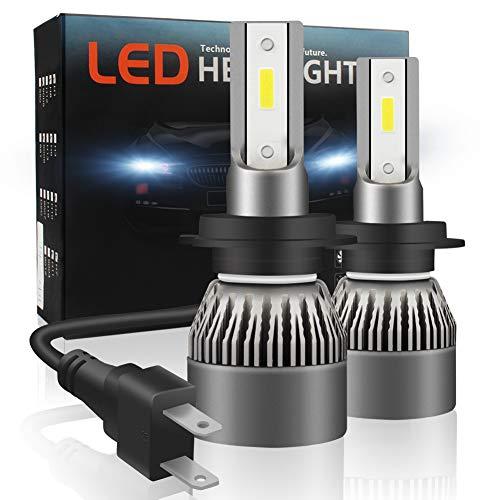 SJLED Luci H7 LED 80W 12000LM, Luci Bianche Auto H7 6000K [COME DI SERIE], Fari a LED Auto...