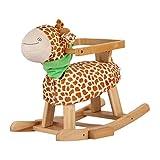 Questo è il cavallo a dondolo di un bambino. Il movimento alternativo dei cavalli a dondolo di legno e di altri giocattoli a dondolo può aiutare i bambini a calmarsi. I cavalli possono anche aiutare i bambini a migliorare la loro mobilità, stimola...