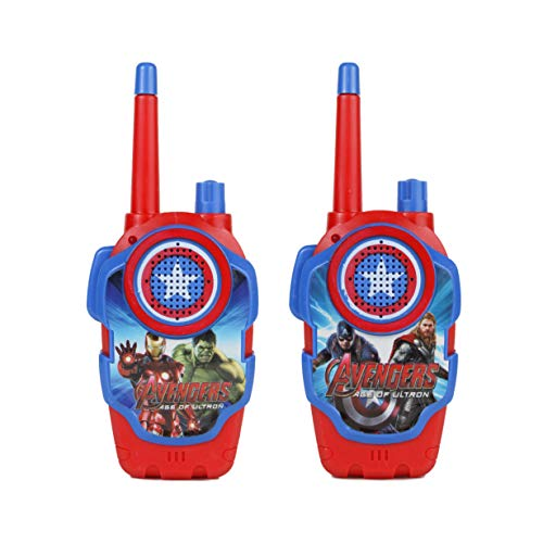 A One Avenger Model Battery Operated Walkie Talkie Set for Kids with Extendable Antenna for Extra Range (150 feet)
