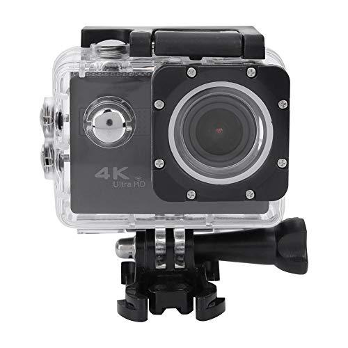 VBESTLIFE 4K Ultra HD WiFi 20MP Fotocamera di Sport, Fotocamera per attività Sportive Lente Fisheye Grandangolare Regolabile 170 ° e 70 ° con 2 Pollici Supporto LCD Connxion con Tablet e TEL