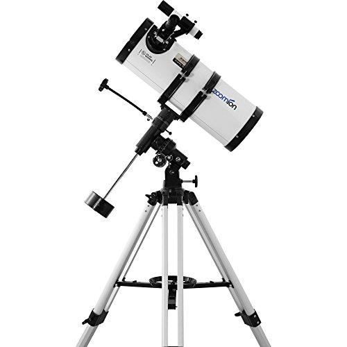 """Zoomion Gravity 150 EQ, telescopio astronómico Reflector de 6"""" con Apertura de 150 mm y 750 mm de Distancia Focal"""