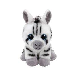TY unisex peluche bianco Stripes Zebra 15cm peluche glub schis