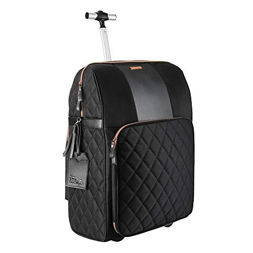 La borsa da viaggio Hack Cabin con vano a mano integrato 55 x 40 x 20 cm (Black and Rose Gold)