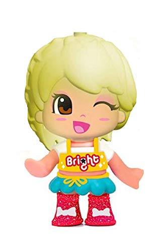 FAMOSA. Pinypon Colori Magici Bright Mini Bambola in Blister Capelli Cambiano Colore