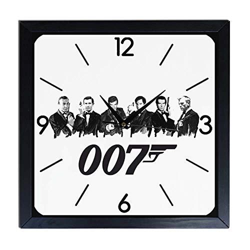 Orologio da parete in Legno 007 James Bond