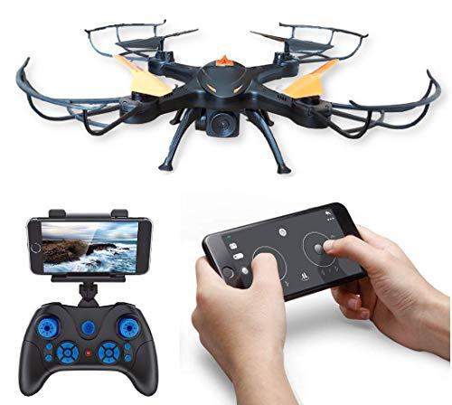 Amitasha 6-Axis Gyro App Control Wi-Fi Camera Drone RC Quadcopter (Multi-Color)