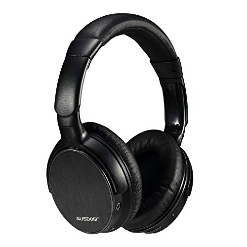 AusdomÃ'® M06 Stereo Wired/wireless Lightweight Bluetooth Over-ear Headphone with Built-in Mic for Music Streaming Hands-free Calling on iPhone/Android/PC