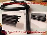 Alfarom Goma de Repuesto para Limpiaparabrisas Universal 700 Mm Bosch Aerotwin para Coche, 2 Unidades