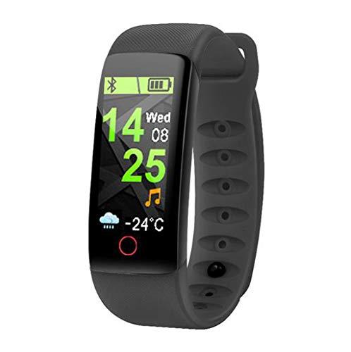 Inteligente Bluetooth Digital Al aire libre Reloj deportivo electrónico Pulsera multifunción Contador de pasos Calorías Podómetro Frecuencia cardíaca Monitor de presión arterial Resistente al agua p