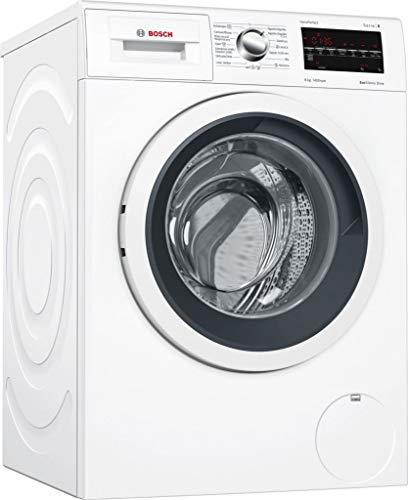 Bosch Serie 6 WAT28469ES Independiente Carga frontal 8kg 1400RPM A+++-30% Negro, Color blanco - Lavadora (Independiente, Carga frontal, Negro, Color blanco, Izquierda, LED, Acero inoxidable)