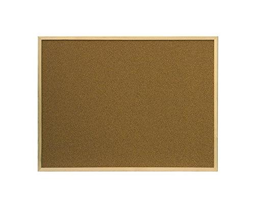 ofituria bacheca in sughero laminato resistente da parete con cornice in legno 400X300 MM