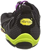 Vibram FiveFingers V-RUN, Damen Outdoor Fitnessschuhe, Mehrfarbig (Black/yellow/purple), 40 EU - 2