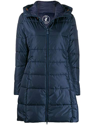 SAVE THE DUCK Luxury Fashion Donna D4311WMEGA900009 Blu Piumino | Autunno Inverno 19
