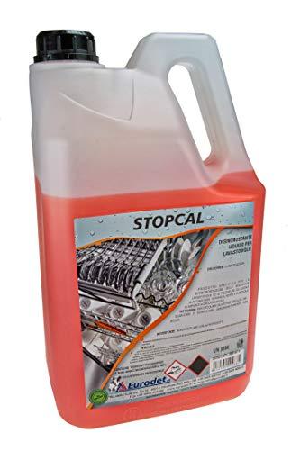 Eurodet-Stopcal-Decalcificante liquido per lavastoviglie Professionale-1 tanica da 5 kg-Made in...