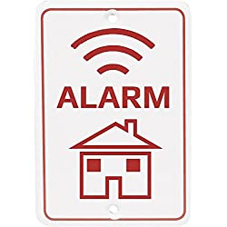 Denver ASA-20 Warnschild Alarm Kunststoff, 1 Stück