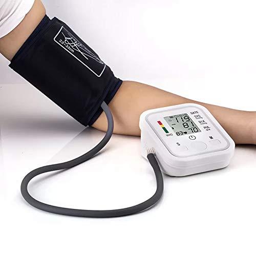 Carrie Tensiómetro de Brazo, con arrhythmie de Mostrar, con Escala de semáforo de Color, para una presión Arterial precisa medición