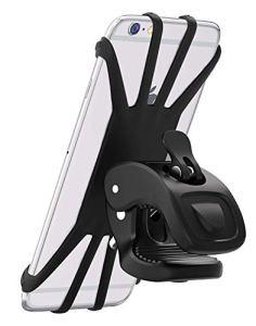 Vobon Handyhalterung Fahrrad, 360° Rotation Handyhalter für alle 4,5 - 6.5 Zoll Handys, Schwarz 15