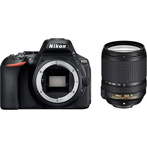 Nikon D5600 - Fotocamera Reflex Digitale + Obiettivo AF-P DX NIKKOR 18-55mm f/3.5-5.6G - Nero