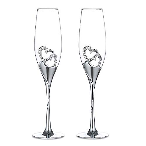 1 Set Di (2) Bicchieri Di Vino Rosso Creativo Ad Alta Qualità, Bicchiere Di Champagne, Bicchiere a...