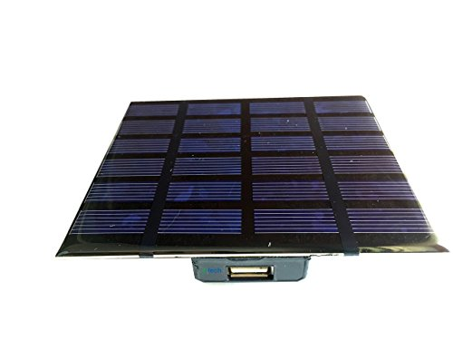 IFTech 1W Solar Panel with Micro Controller USB port