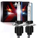 Win Power H7 Xenon-Lampen 55W HID Lichtlampe Autoscheinwerfer Ersatzlampe 8000K Eisblau, 2 Stück